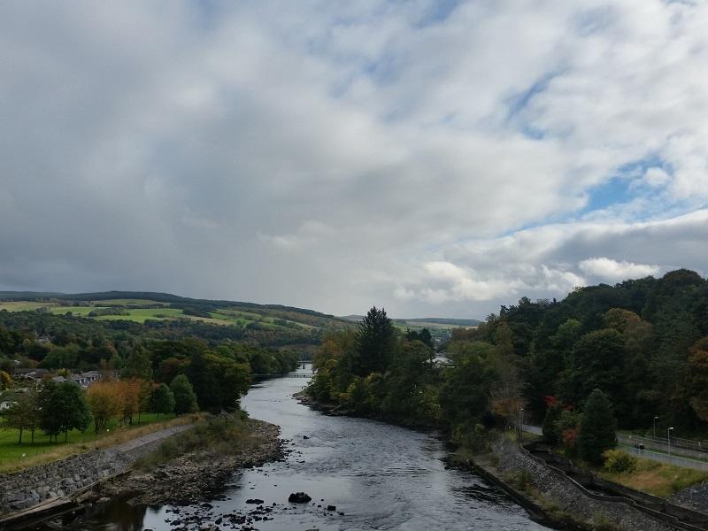 River Tummel, Pitlochry, Scotland.